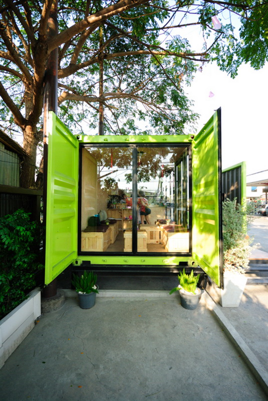 Container Cafe Container Design